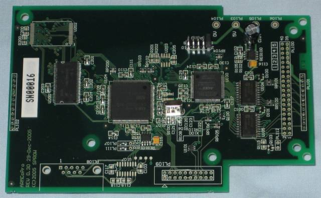 Sprow ARM7 Co-processor top