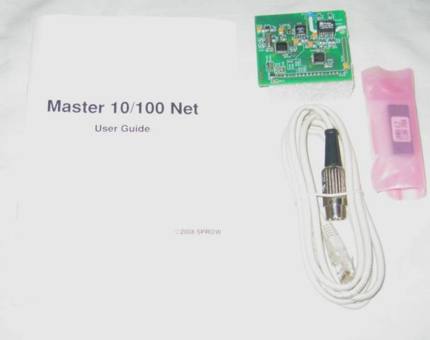 Sprow Master 10/100 Net ethernet module