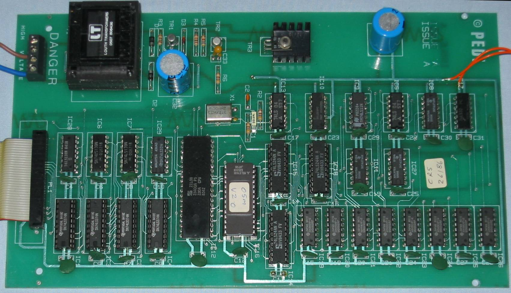 Chris's Acorns: Technomatic Multiform Z80 2nd processor HiRes