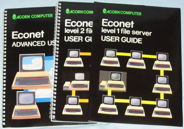 Acorn ANB22 Econet Upgrade manuals