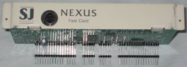 SJ Research A3000 Nexus Fast Card back