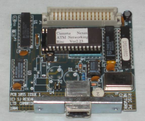 SJ Research Risc PC Nexus Networking Interface bottom