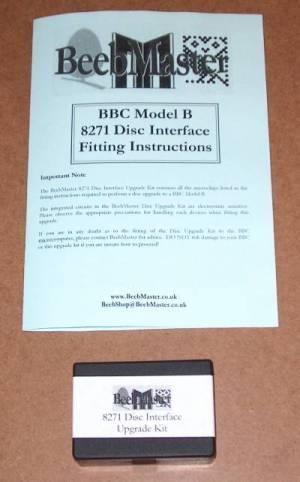 BeebMaster 8271 Disc Upgrade kit instructions