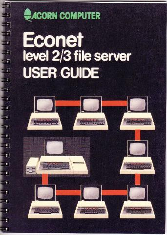 Acorn Econet Level 2 &3 File Server User Guide