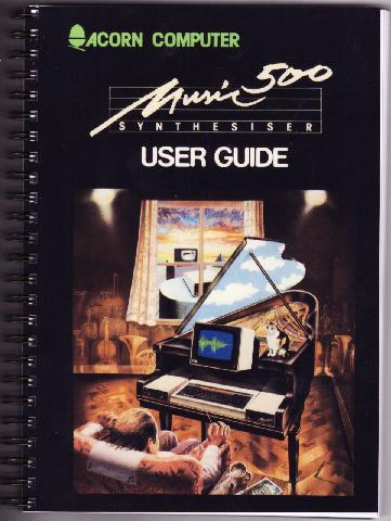 Acorn Music 500 User Guide