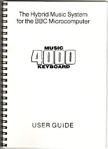 Hybrid Music 4000 Keyboard User Guide