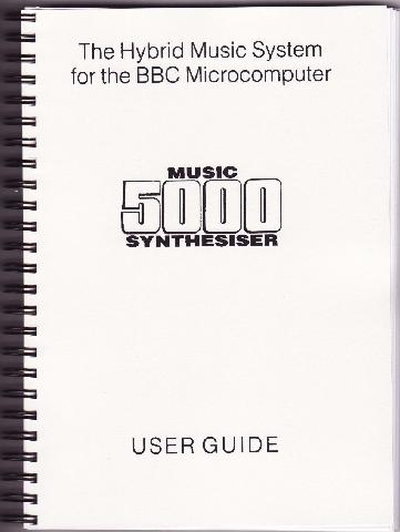 Hybrid Music 5000 Synthesiser User Guide