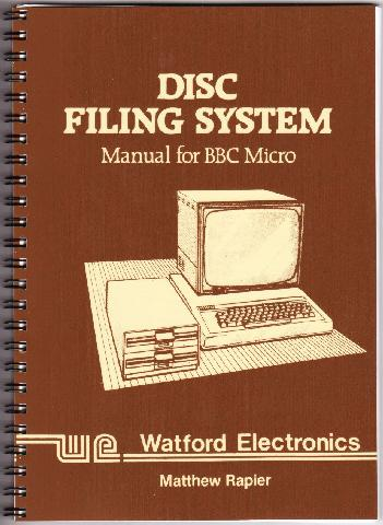 Watford Electronics DFS User Guide