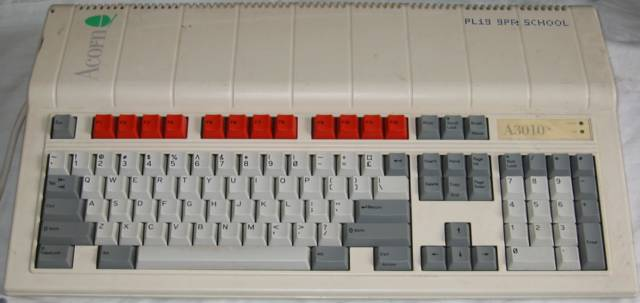 A3010 with red keys