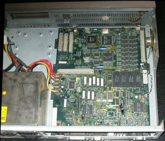A5000 motherboard in case