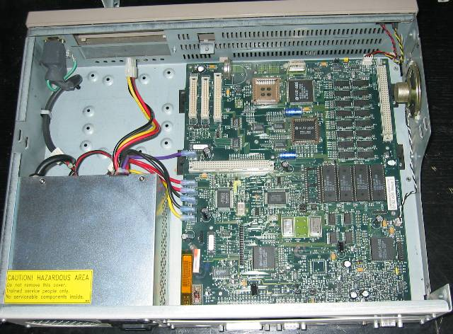 A5000 (alpha) with drives removed