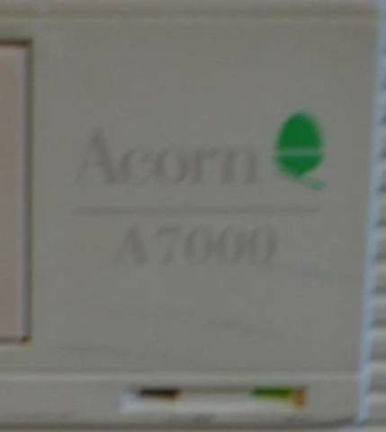 A7000 and Acorn logo