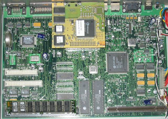 A7000 motherboard and NIC