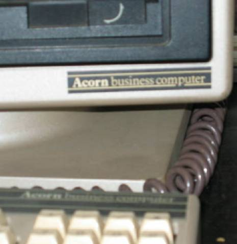 Acorn Business Computer label