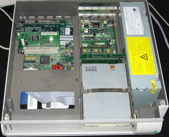 Risc PC 600 open