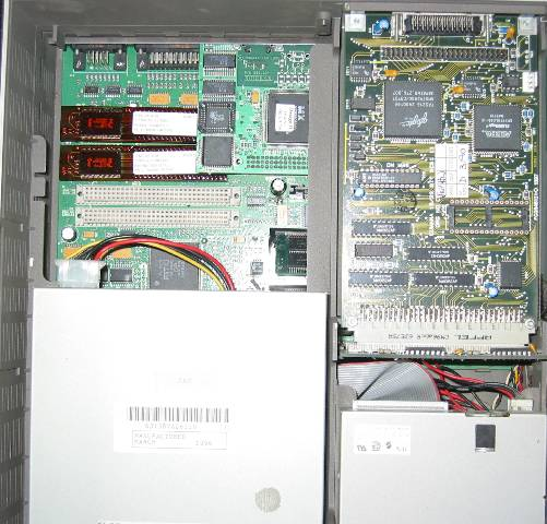 Risc PC 600 with CPUs removed