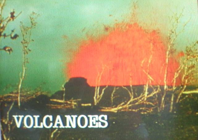 Volcanoes title screen