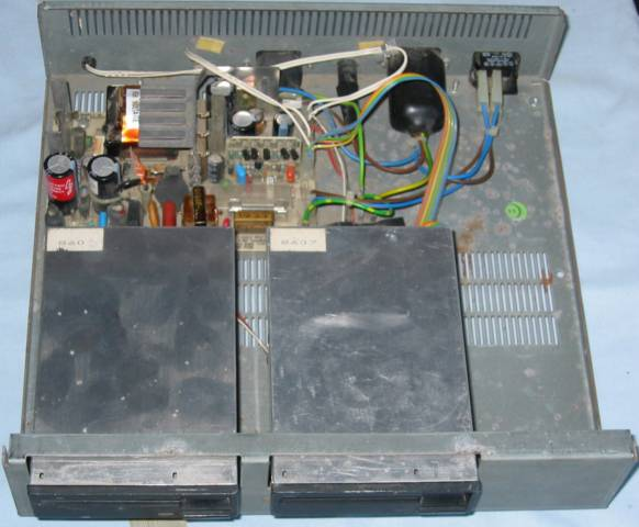 Master Compact Disc unit open