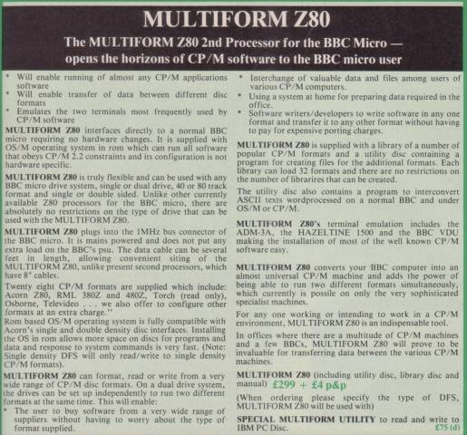 Multiform Z80 Ad